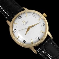 Omega 1948 Classic Vintage Mens Mid Century Automatic Watch - 14K