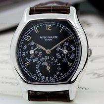 Patek Philippe 5040P-013 Perpetual Calendar Tonneau Platinum /...