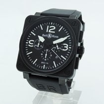Bell & Ross BR0194-BL-CA BR01  Chronograph Carbon 46mm