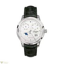 Glashütte Original Senator Calendar Moonphase Stainless Steel...