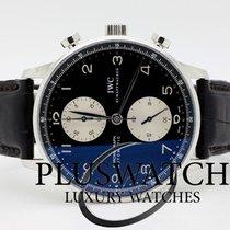 IWC PORTOGHESE Chronograph Ref . 371404 2002 42mm PANDA 2897