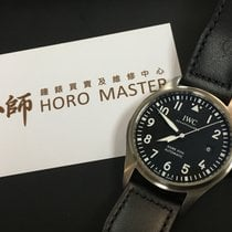 IWC Horomaster-IW327001 Pilots Stainless Steel Black Automatic