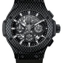 Hublot Big Bang 44 MM Aero Bang Chronograph Carbon Men's...