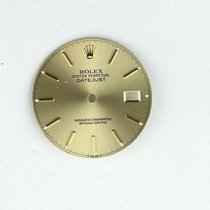Rolex Mens Steel Rolex Champagne Factory Dial (28mm) For Full...