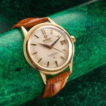 Omega constellation calendar 18 ct Gold vintage dress watch