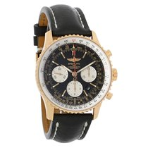 Breitling Navitimer 01 Mens 18K Chronograph Automatic Watch...