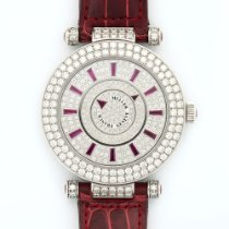 Franck Muller White Gold Double Mystery Diamond 42mm Watch