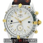 Breitling Duograph Double Date 2Tone Day & Night GMT Ref....