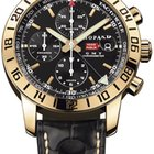 Chopard Mille Miglia GMT, Black Dial - Rose Gold on Strap