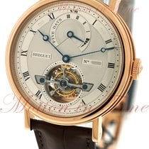 Breguet Tourbillon Automatic Power Reserve, Silver Dial - Rose...