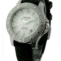 Chopard 16/8912 L.U.C. Pro One - Steel on Rubber Strap with...