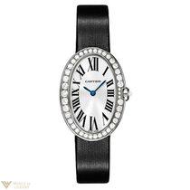 Cartier Baignoire Ladies Diamond White Gold Ladies Watch