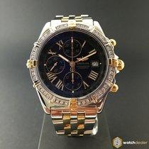 Breitling Crosswind Gold/Steel Diamonds B13355