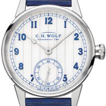 C.H. Wolf Nautic Kapitän Eisbirke made in Glashütte