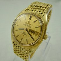 Omega 18K Gold Constellation Automatic Wristwatch
