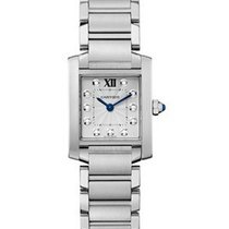 Cartier WE110006 Tank Francaise Small Swiss Quartz in Steel -...