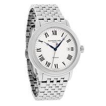 Raymond Weil Maestro Mens Silver Swiss Automatic Watch...