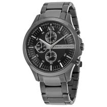 Armani Exchange Black Dial Chronograph Unisex Watch AX2138
