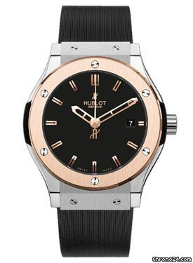 Hublot Classic Fusion 38mm Zirconium And Red Gold