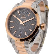 Omega Seamaster Aqua Terra 150M Day Date Midsize in Steel and...