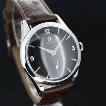 Omega Black Dial Handaufzug Caliber 266 aus 1954 Super Zustand