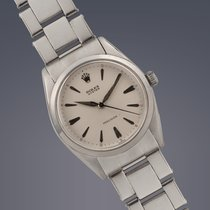 Rolex Oyster 'Jumbo' stainless steel manual Precision...