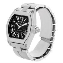 Cartier Roadster Black Dial Mens Large Automatic Watch W62041v3