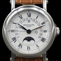 Patek Philippe Ref# 5059 Platinum, Perpetual Calendar Retrograde