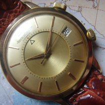Jaeger-LeCoultre 1960s IMMACULATE 18K YELLOW GOLD LARGE MEMOVOX