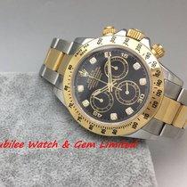 Rolex 116523G Daytona Black dial Gold & Steel random watch...