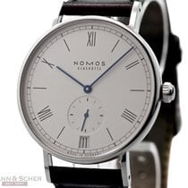 Nomos LUDWIG Automatic Ref-271 Stainless Steel Box Papers...
