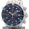 Omega Seamaster Pro 300M Chrono Steel Blue Dial 2599.80.00