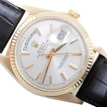 Rolex Mens Yellow Gold President - Silver Dial 1803
