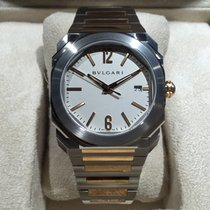 Bulgari Octo SoloTempo Automatic 38 mm Steel Gold