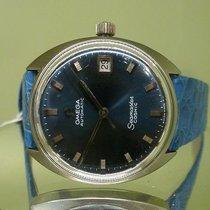 Omega vintage 1969 cosmic blue dial ref 166.023