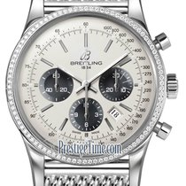 Breitling Transocean Chronograph 43mm ab015253/g724-ss
