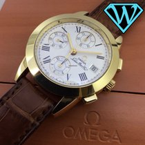 Omega Louis Brandt Chronograph  gold Special edition