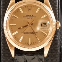 Rolex Date 1503 In 14k Yellow Gold