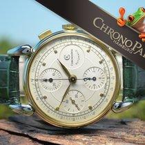 Chronoswiss Classic Herren Chronograph 18kt Gold/Stahl von...