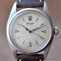 Rolex PRE-EXPLORER Ref 6352 OVERSIZED SEMI-BUBBLE RARE...