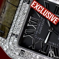 Cartier Limited Edition Diamond Cartier Santos 100 L Kings...