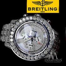 Breitling Men's 25ct Diamond Breitling Super Avenger Watch...