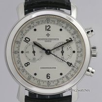 Vacheron Constantin Malte Manual Chronograph 47120 White Gold