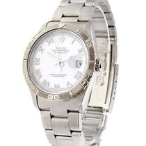 Rolex Used 16264 Mens Steel Datejust with Turnograph Bezel -...
