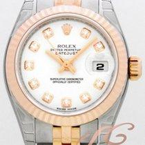 롤렉스 (Rolex) デイトジャスト レディース ホワイト Datejust Lady White