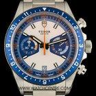 Tudor Stainless Steel Cream Dial Heritage Chronograph B&P...