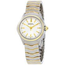 Ebel Wave Silver Dial Two Tone Ladies Watch