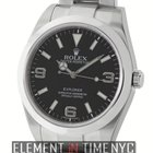 Rolex Explorer I Stainless Steel Black Dial 39mm Ref. 214270