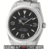 Rolex Explorer I Stainless Steel Black Dial 39mm
