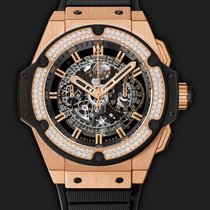 Hublot King Power Unico King Gold Diamonds 48 mm